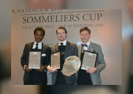 Romain Bourger wint Sommeliers Cup 2015