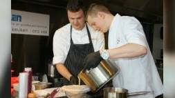 Intensief trainen voor de Bocuse d'Or (video)