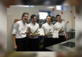 Katoele en Stegeman 'junior chef of the year'