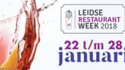 Leidse Restaurantweek in januari