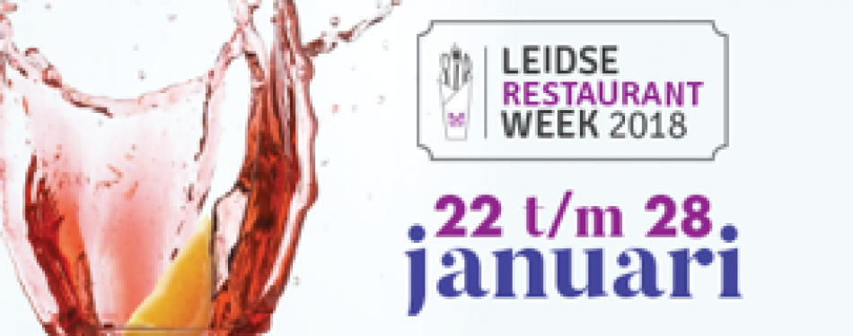 Leidse Restaurantweek in januari<