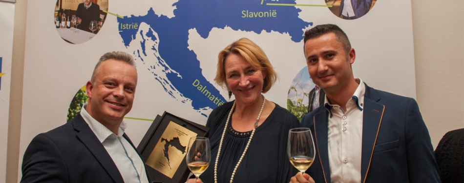 Betty Koster benoemd tot Croatian Wine Ambassador 2018<