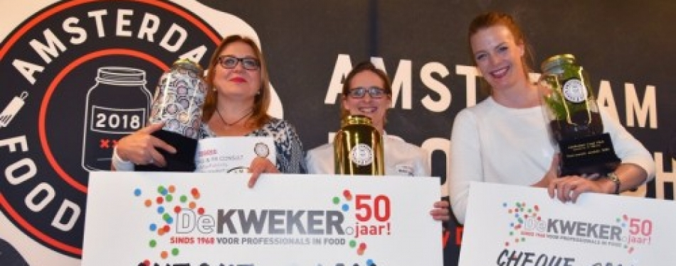 Winnaars Amsterdam Food Pitch bekend