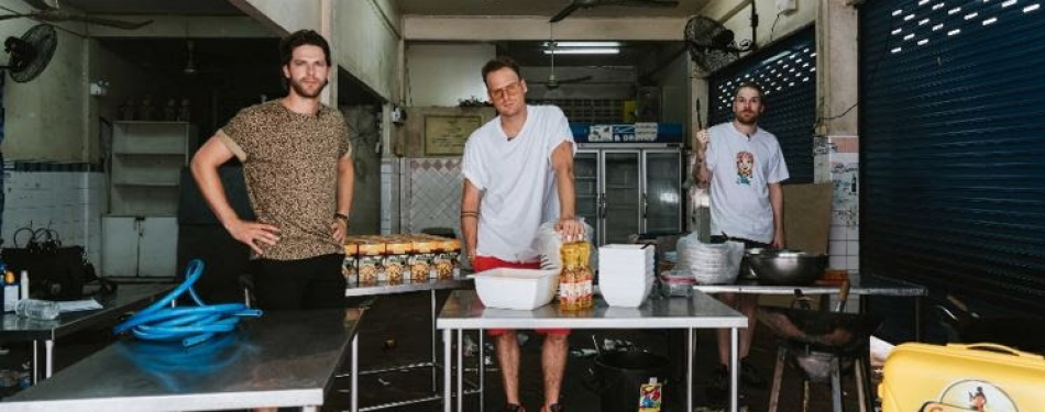 StukTV en Conimex openen streetfood pop-up restaurant in Bangkok<
