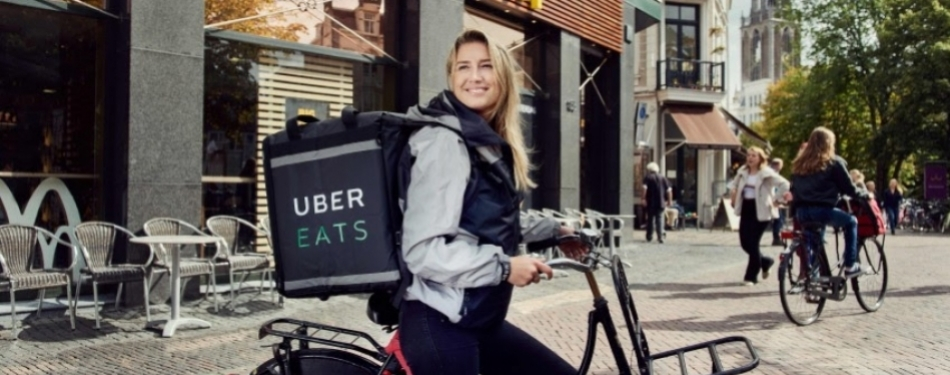 Uber Eats van start in Haarlem <