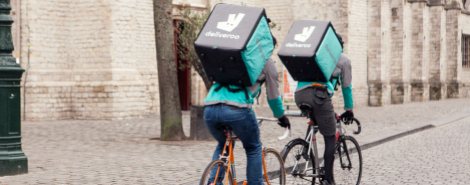 Deliveroo for Business biedt roomservice in hotels<
