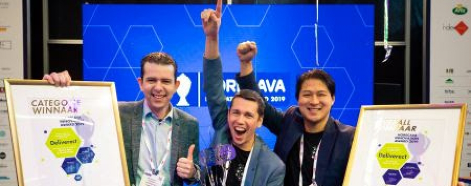 Deliverect winnaar Horecava Innovation Award 2019<