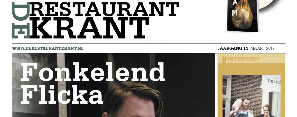 Download nu de maarteditie van De RestaurantKrant
