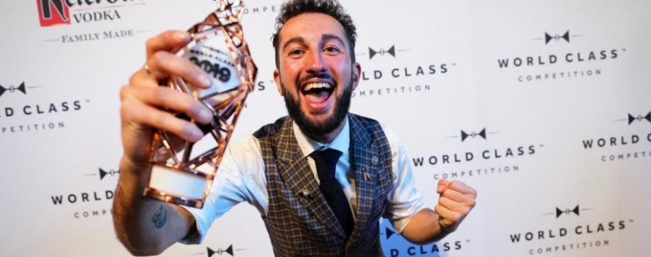 James Chaib van The Tailor in Amsterdam is beste bartender van Nederland
