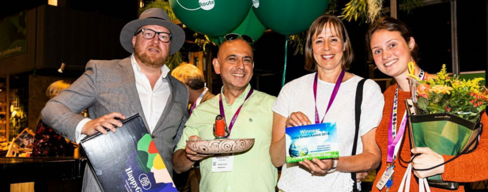 Veggies On Fire wint Gaia Green award 2019