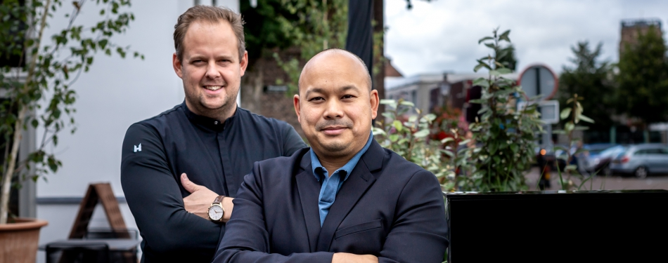 Lars Albers en Randy Bouwer openen hun eigen restaurant Vigor in Vught